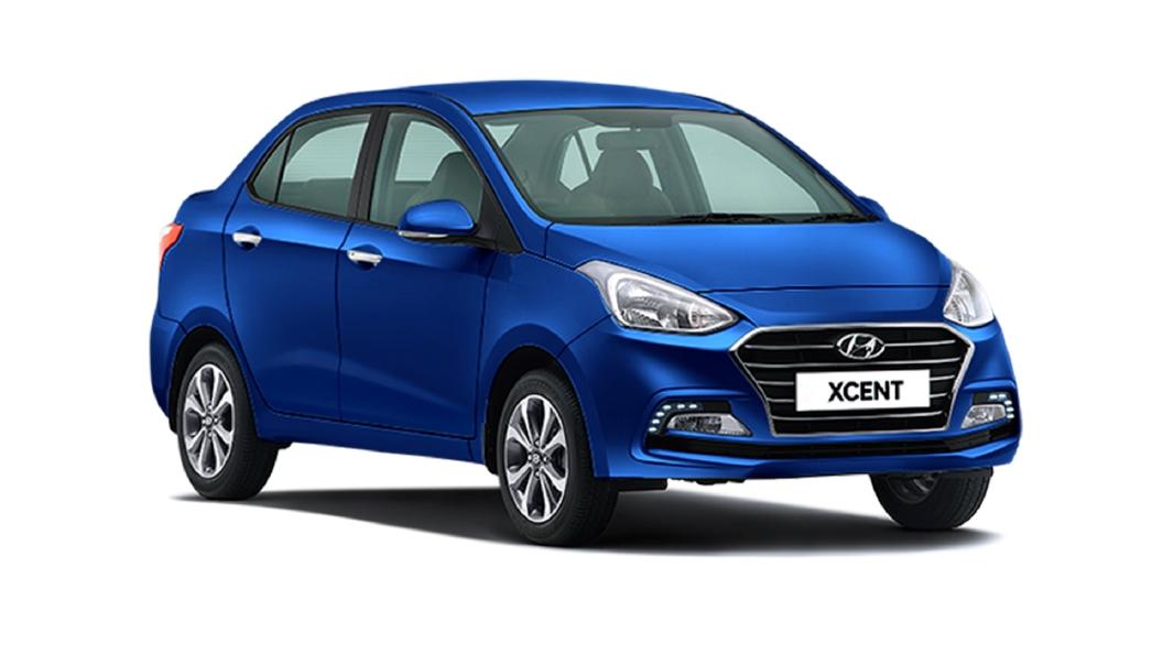 Hyundai  Xcent Alpha Blue Colour