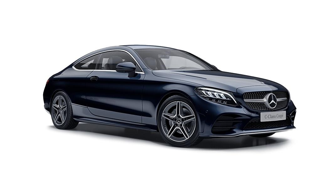 Mercedes Benz  C-Class Cavansite Blue Metallic Colour