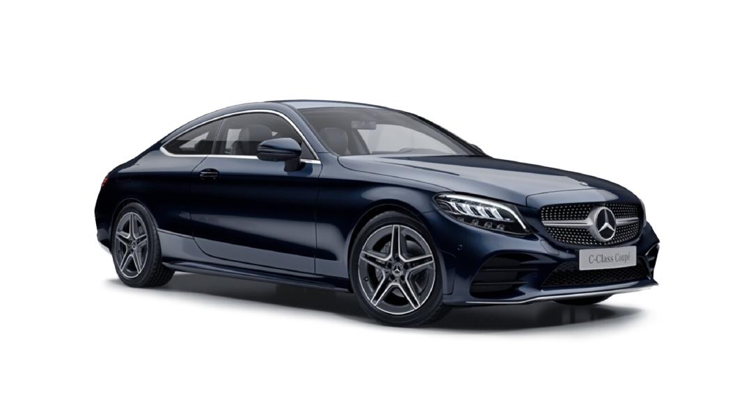 Mercedes Benz  C-Class Cavansite Blue Colour