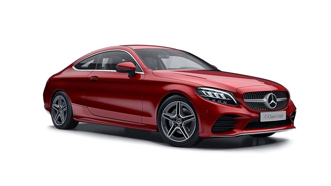 Mercedes Benz  C-Class Designo Hyancith Red Metallic Colour