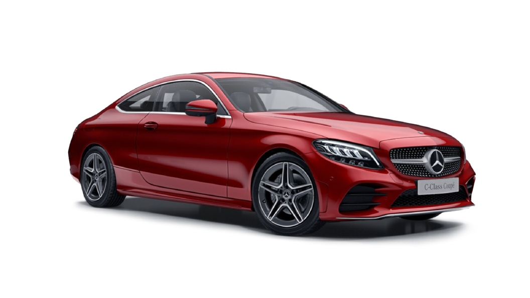 Mercedes Benz  C-Class Designo Hyancith Red Colour
