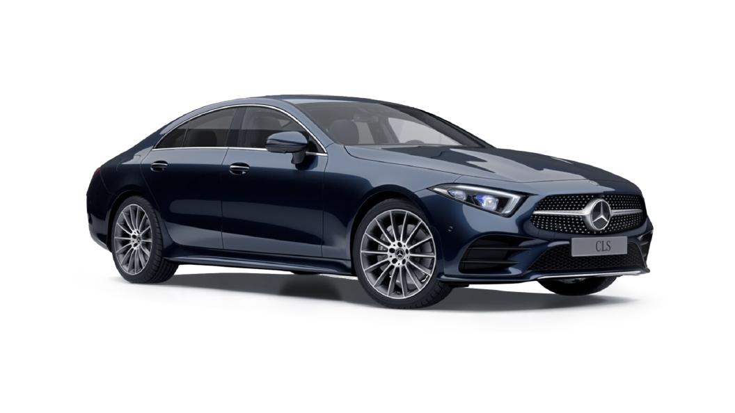 Mercedes Benz  CLS Cavansite Blue Metallic Colour