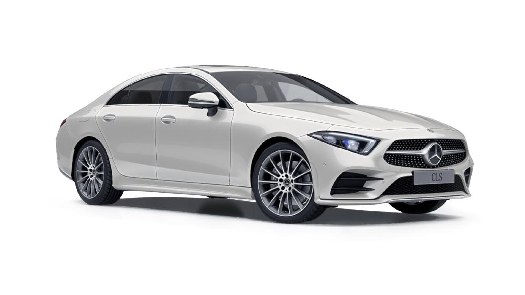 Mercedes Benz  CLS Designo Diamond White Colour