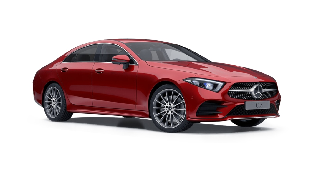 Mercedes Benz  CLS Designo Hyacinth Red Colour