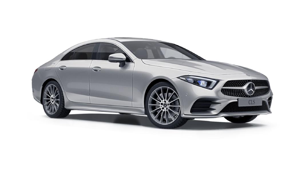 Mercedes Benz  CLS Iridium Silver Metallic Colour