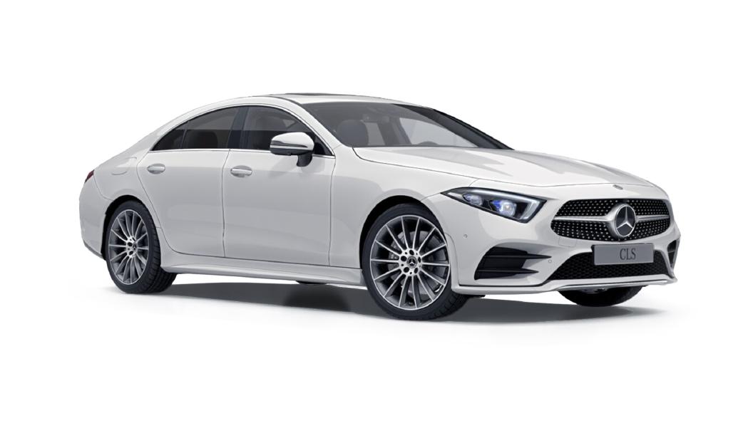 Mercedes Benz  CLS Polar White Metallic Colour