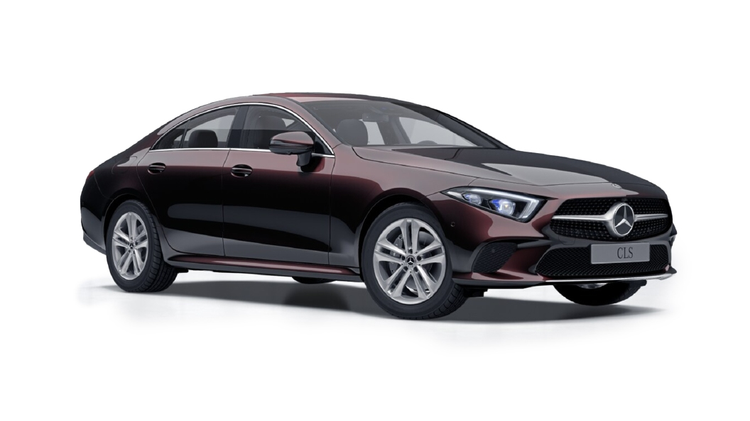 Mercedes Benz  CLS Ruby Black Metallic Colour