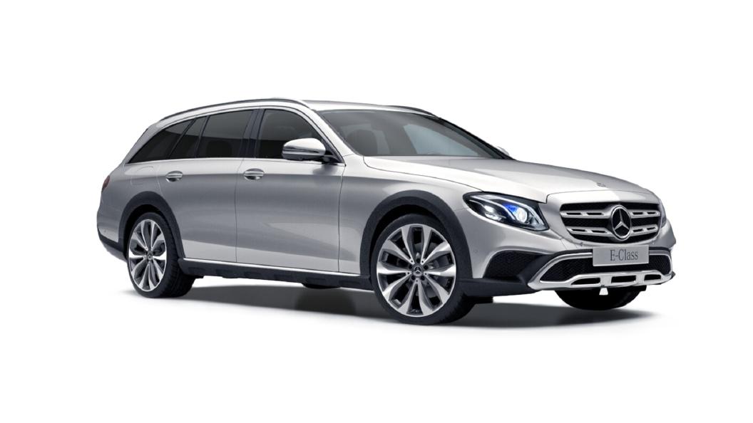 Mercedes Benz  E-Class All Terrain Iridium Silver Colour