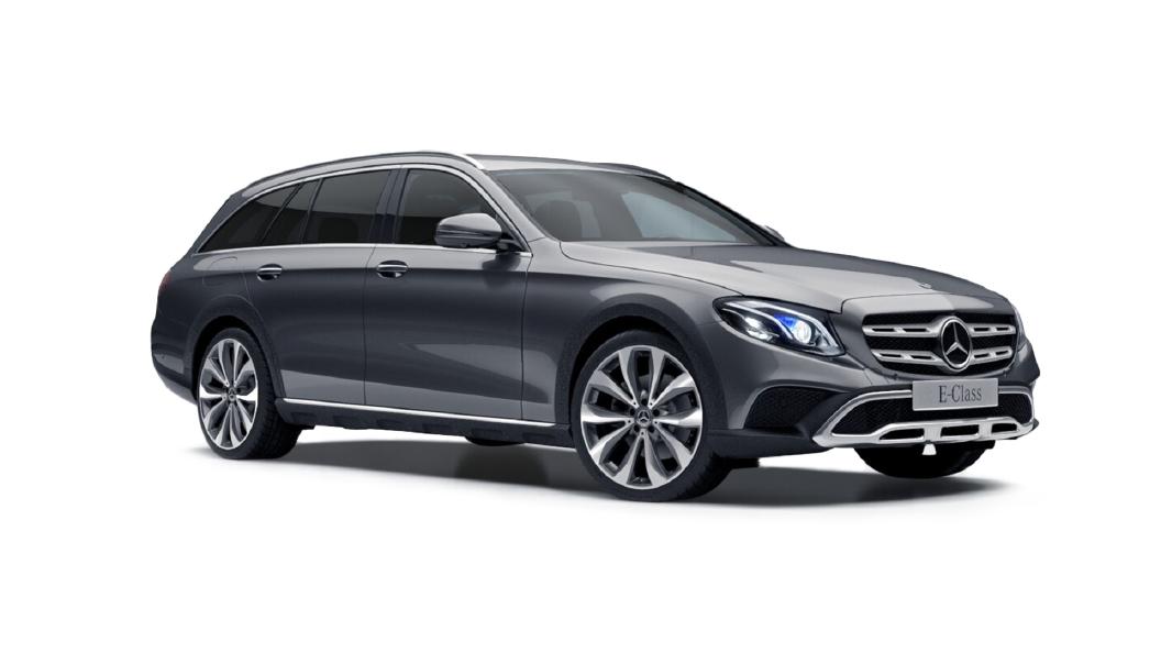 Mercedes Benz  E-Class All Terrain Selenite Grey Colour