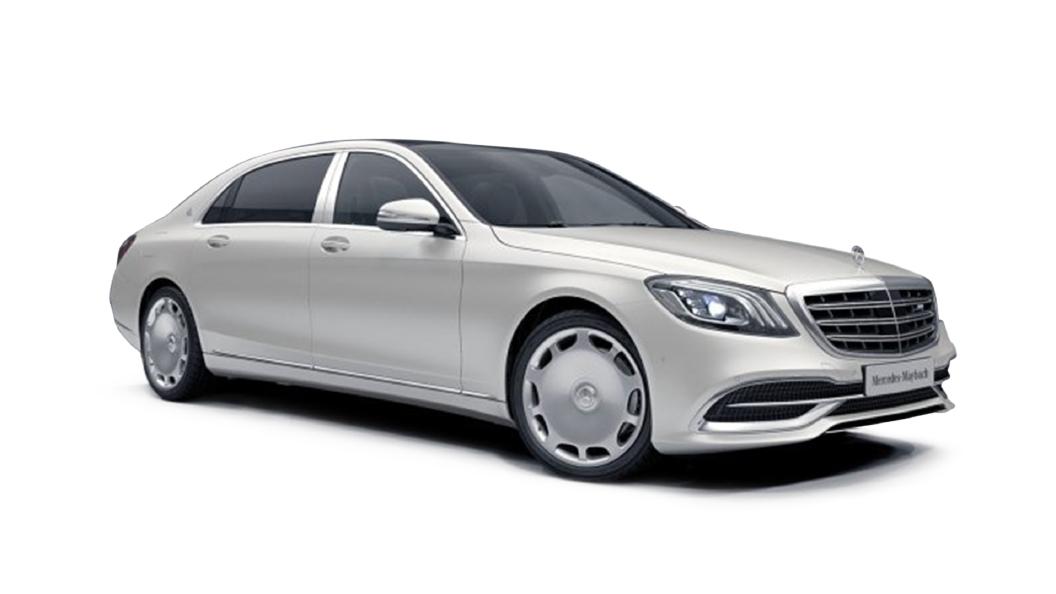 Mercedes Benz  S-Class Cashmere White Magno Colour