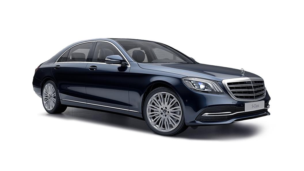 Mercedes Benz  S-Class W222 Cavansite Blue Metallic Colour
