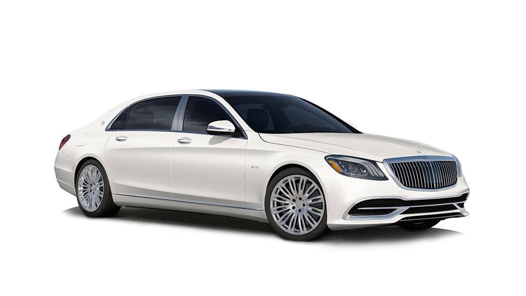 Mercedes Benz  S-Class W222 Designo Cashmere White Magno Colour