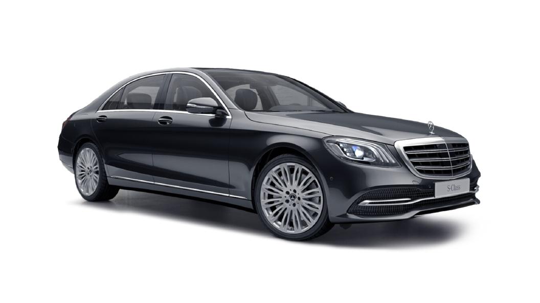 Mercedes Benz  S-Class W222 Magnetite Black Metallic Colour