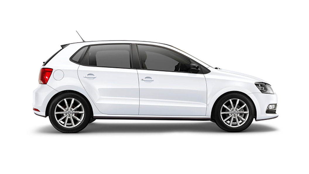 Volkswagen  Polo Candy White Colour