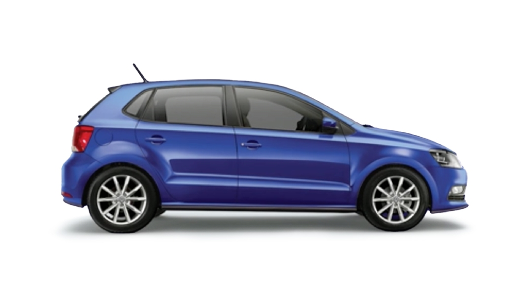 Volkswagen  Polo Lapiz Blue Colour
