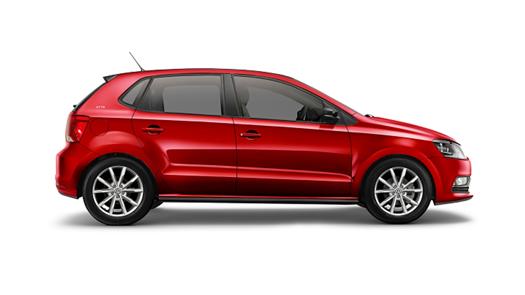 Volkswagen  Polo Sunset Red Colour