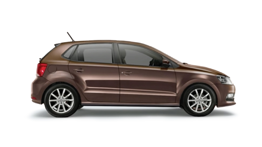 Volkswagen  Polo Toffee Brown Colour