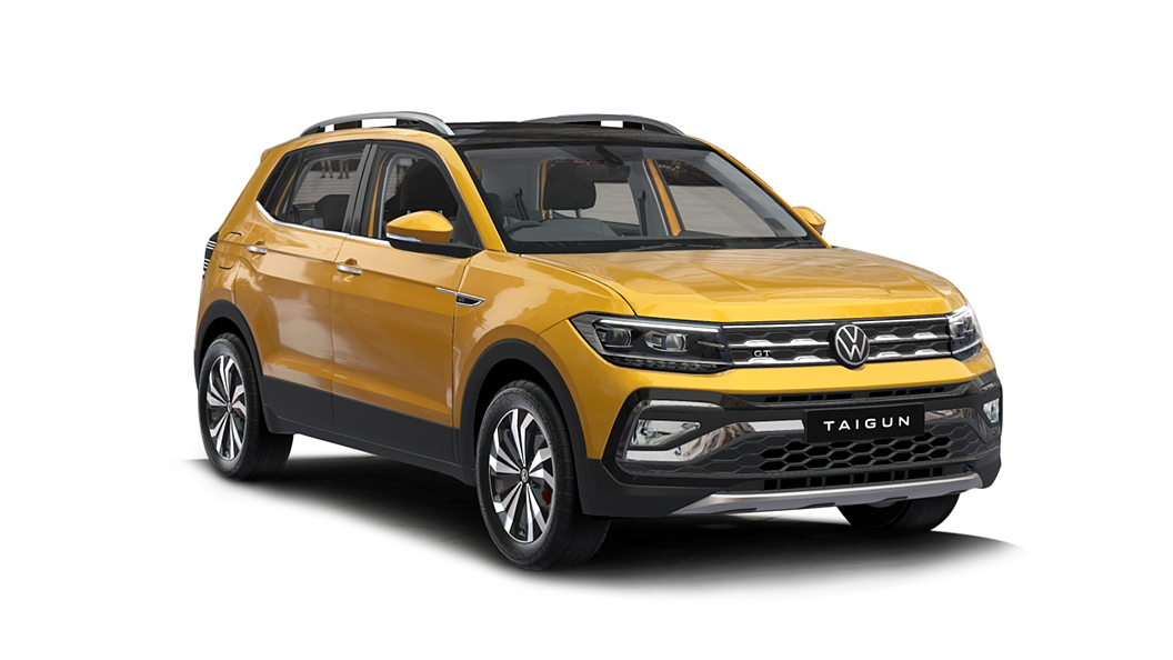 Volkswagen  Taigun Curcuma Yellow Colour