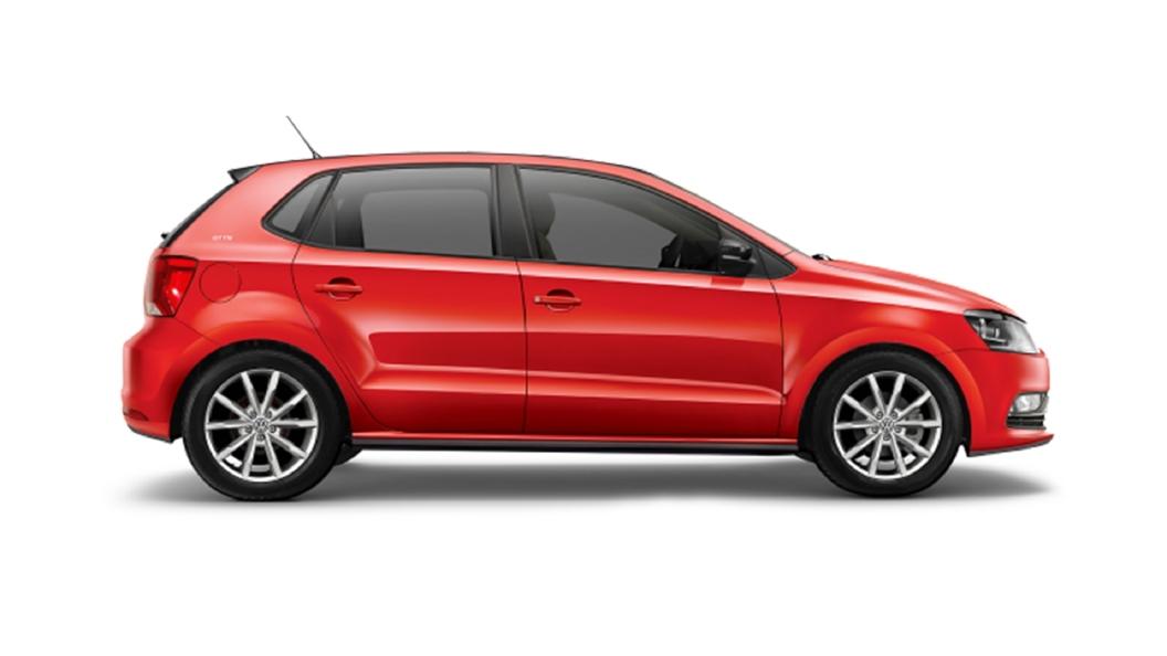 Volkswagen  Taigun Flash Red Colour