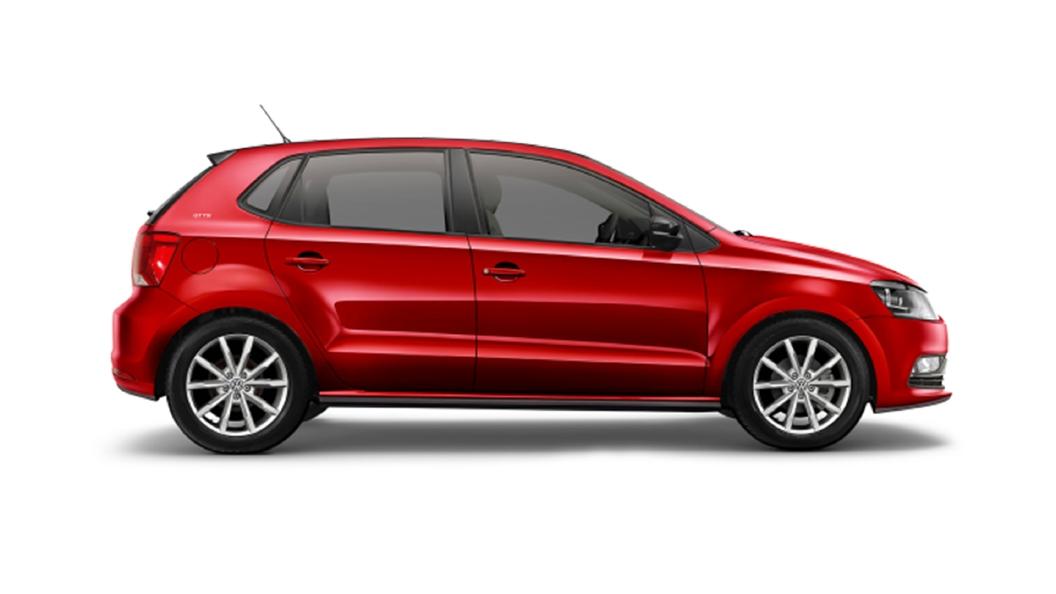 Volkswagen  Taigun Sunset Red Colour