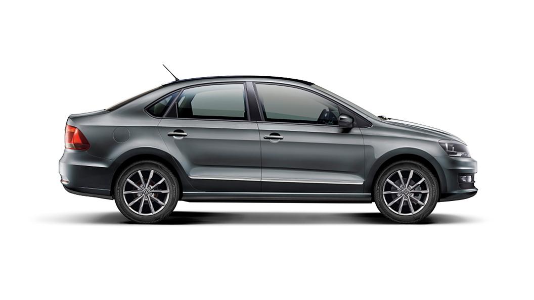 Volkswagen  Vento Carbon Steel Colour