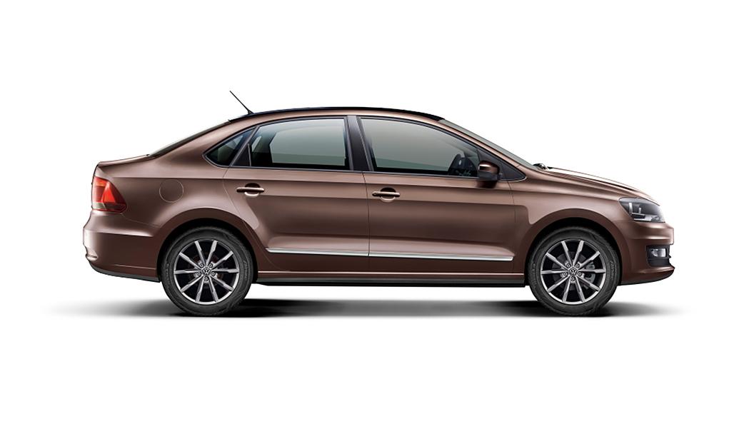 Volkswagen  Vento Toffee Brown Colour