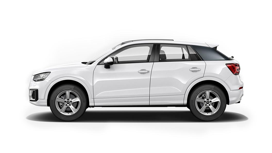Audi  Q2 Ibis White Colour