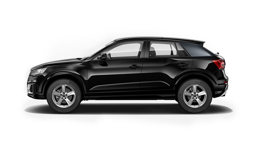 Audi  Q2 Mythos Black Metallic Colour