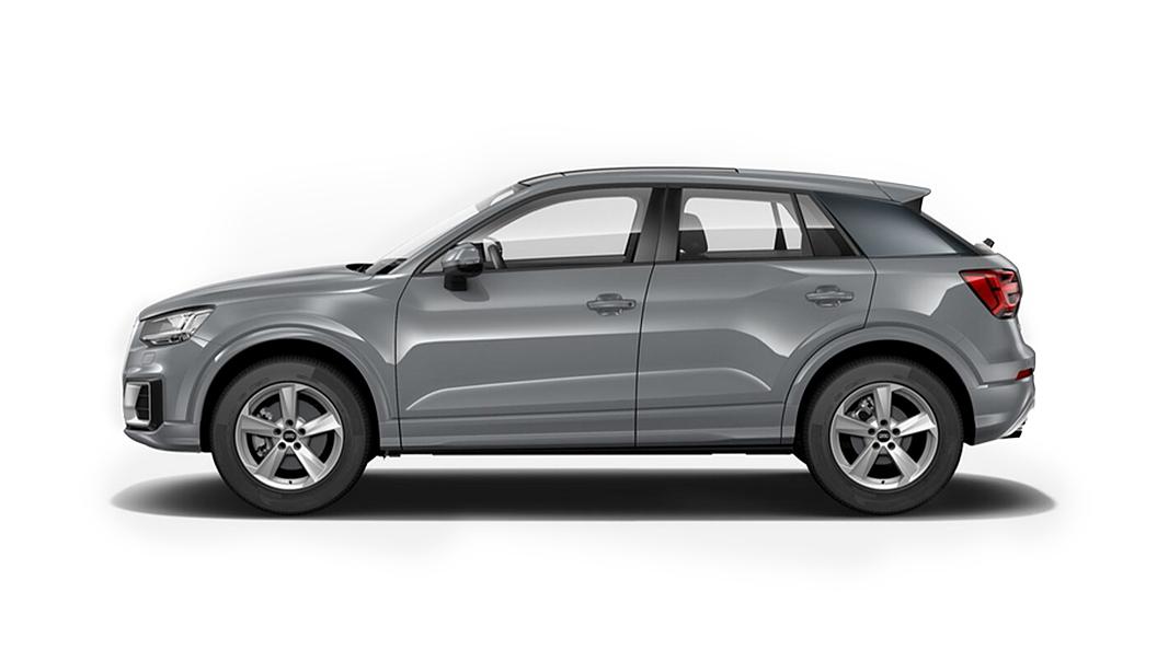 Audi  Q2 Quantum Gray Metallic Colour
