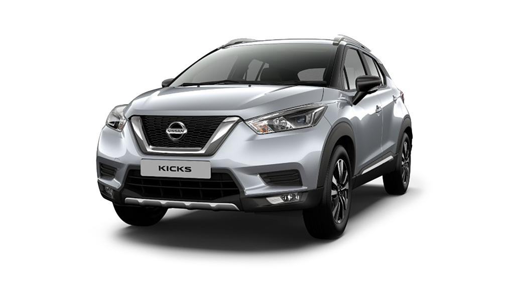 Nissan  Kicks Blade Silver Colour