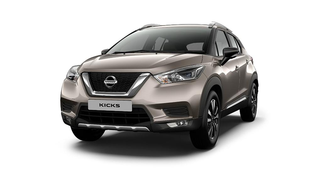 Nissan  Kicks Bronze Grey Colour