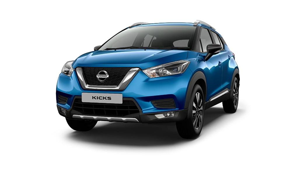 Nissan  Kicks Deep Blue Pearl Colour