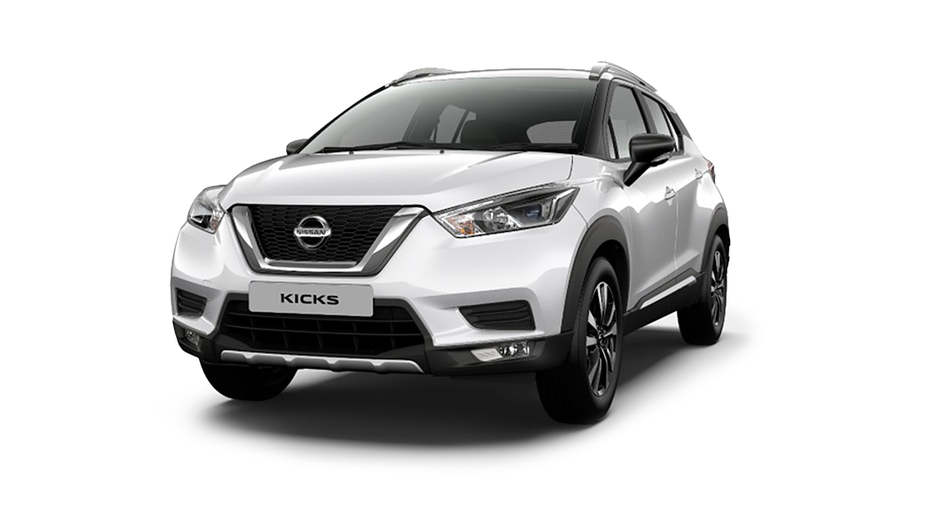 Nissan  Kicks Pearl White Colour