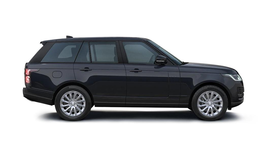 Land Rover  Range Rover Lingurian Black Metallic Colour