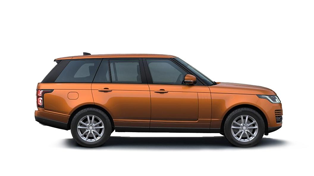 Land Rover  Range Rover Madagascar Orange Metallic Colour
