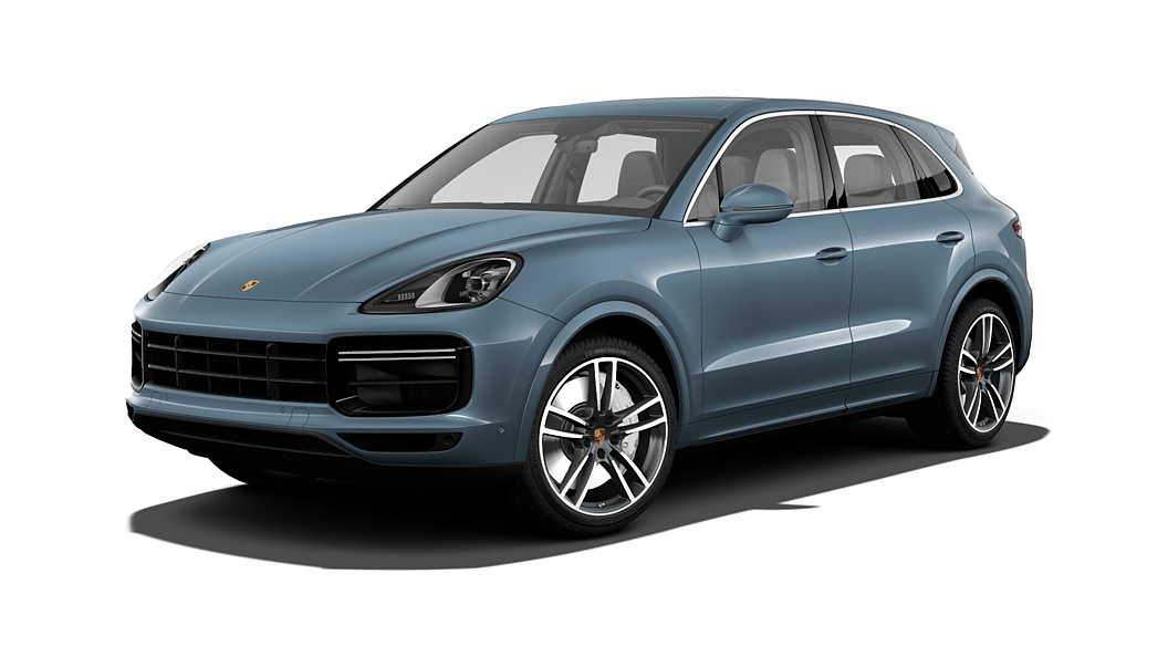 Porsche  Cayenne Biskay Blue Metallic Colour