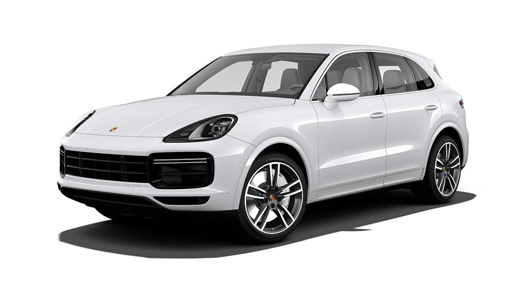 Porsche  Cayenne Carrara White Metallic Colour