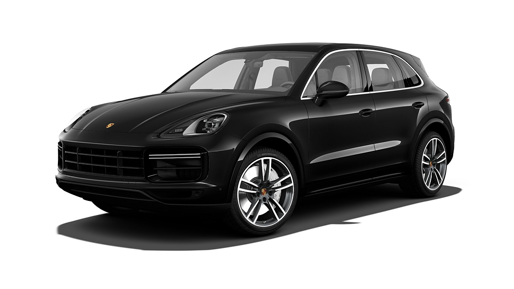 Porsche  Cayenne Jet Black Metallic Colour