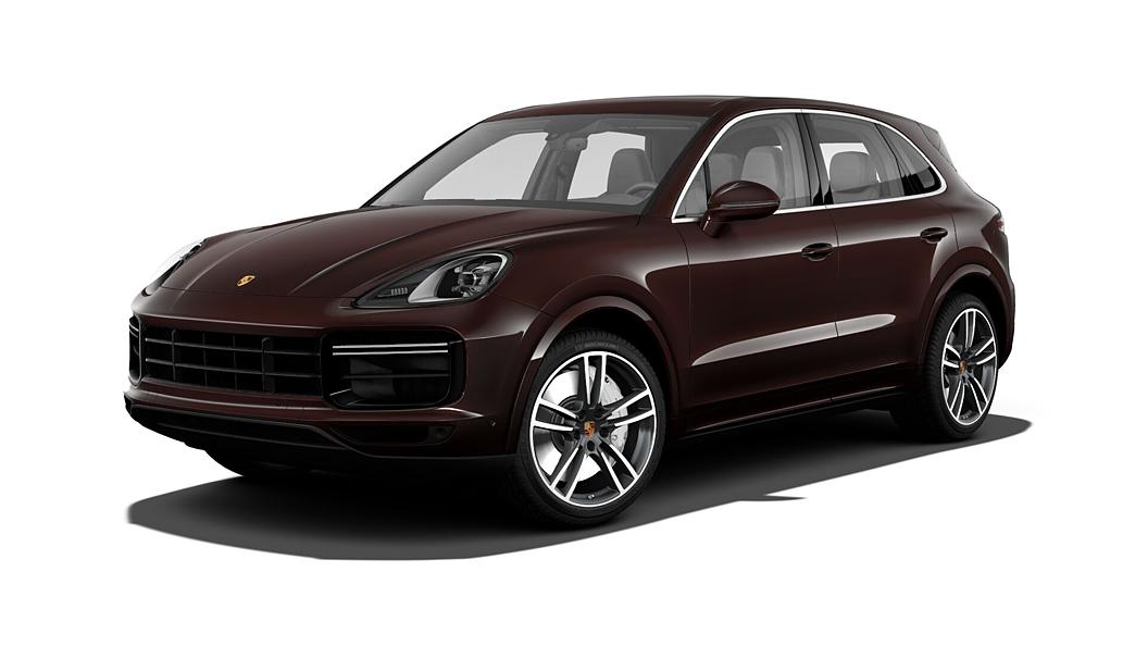 Porsche  Cayenne Mahogany Metallic Colour