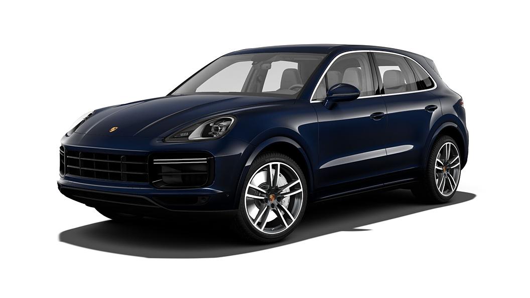 Porsche  Cayenne Moonlight Blue Metallic Colour