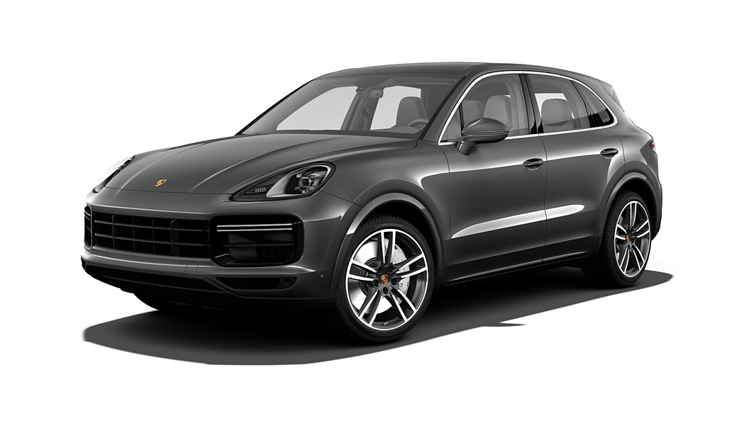Porsche  Cayenne Quartzite Grey Metallic Colour
