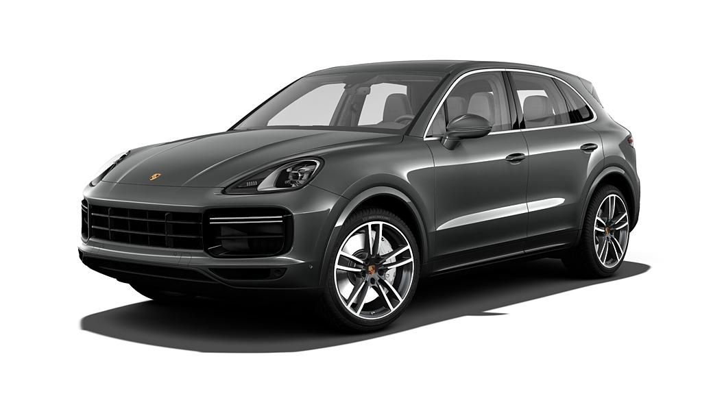 Porsche  Cayenne Quartzite Grey Metallic Colour