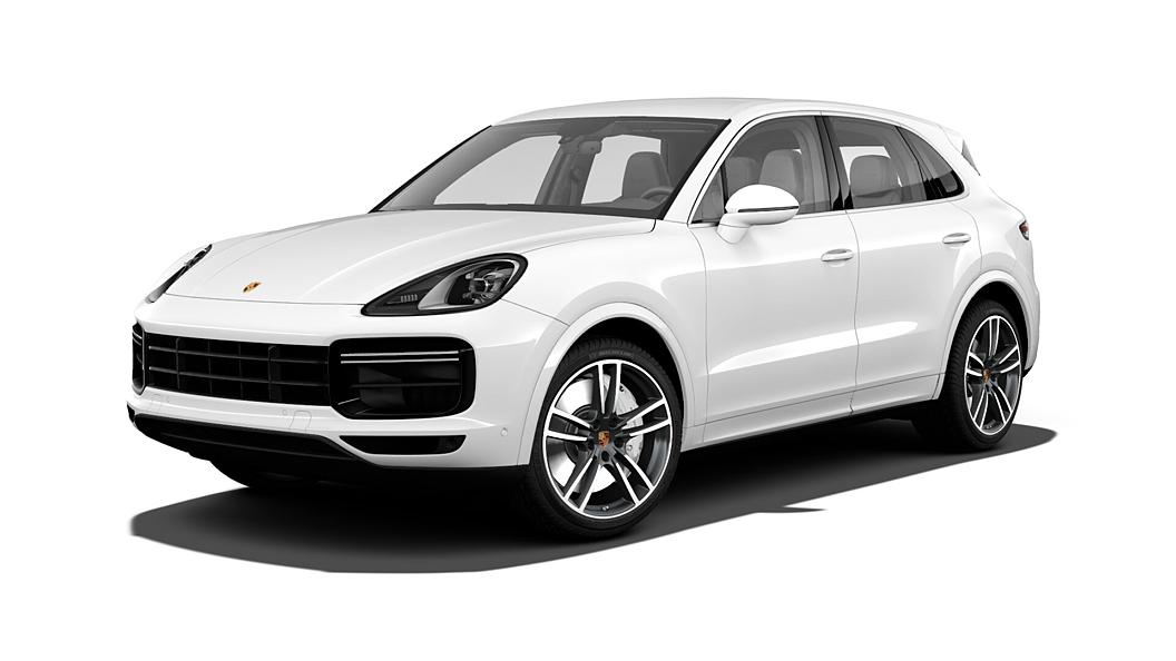 Porsche  Cayenne White Colour