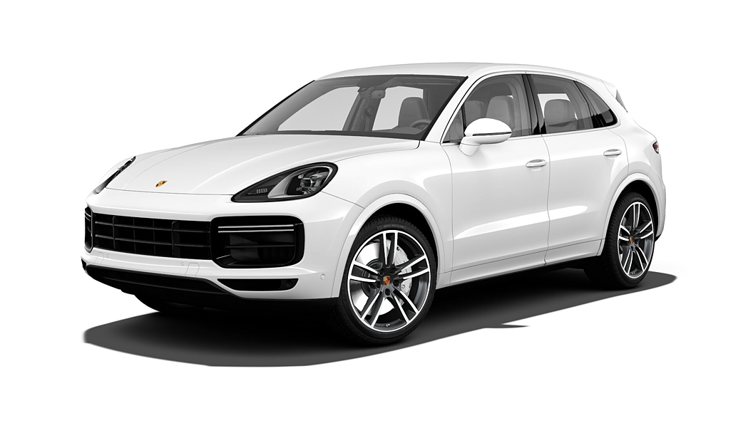 Porsche  Cayenne White Colour