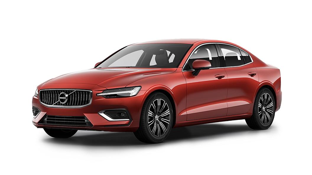 Volvo  S60 Fusion Red Colour