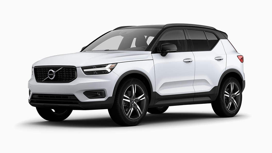 Volvo  XC40 Crystal White Pearl  Colour