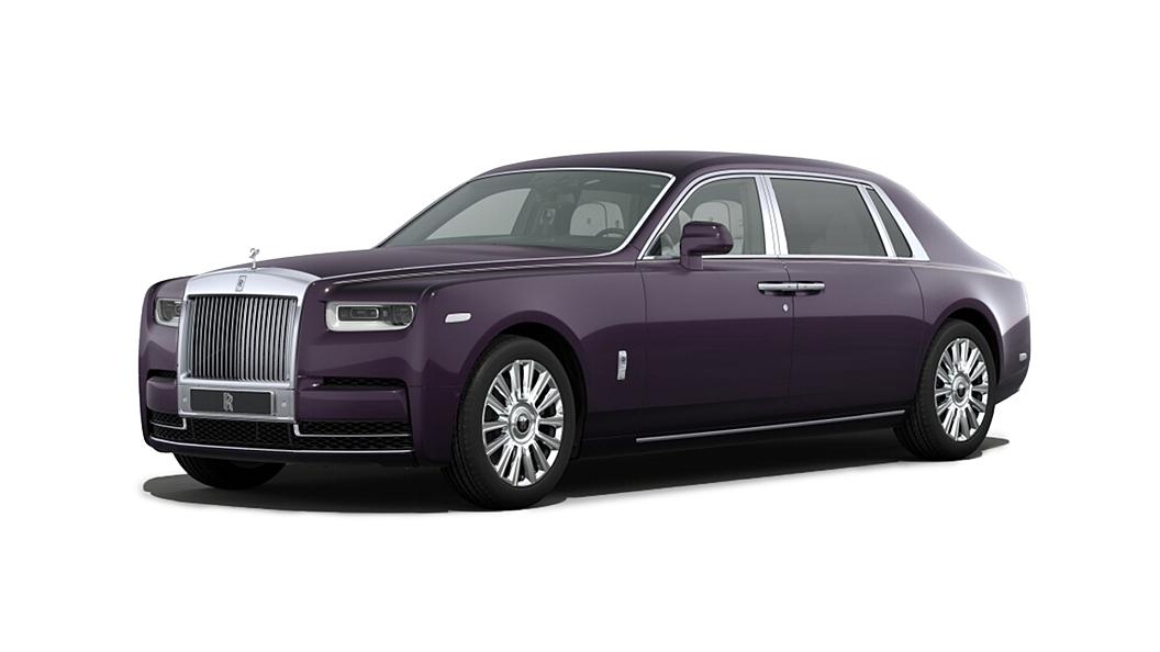 Rolls-Royce  Phantom VIII  Belladonna Purple Colour