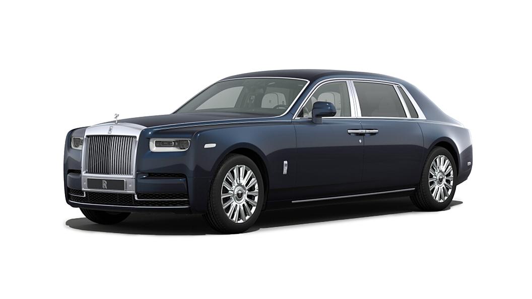 Rolls-Royce  Phantom VIII  Midnight Sapphire Colour