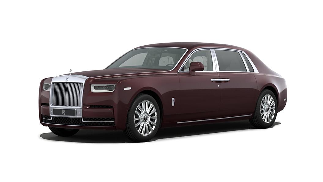 Rolls-Royce  Phantom VIII Bohemian Red Colour
