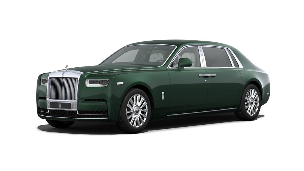Rolls-Royce  Phantom VIII Dark Emerald Colour
